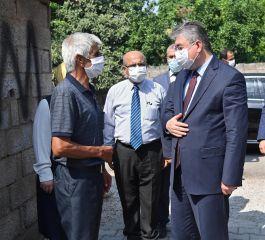 Osmaniye Valisi Şehit Ailesini evinde ziyaret etti(Video)