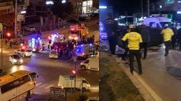 Özel harekat aracı kaza yaptı 4 polis 6 yaralı