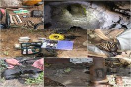 Pençe Kaplan Operasyonu'nda ele geçirilen malzemeler imha edildi