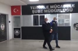 PKK'ya silah sağlayan Suriyeli bir kişi yakalandı(Video)