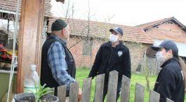 Polis ekipleri şehit babasının ihtiyaçlarını karşıladı