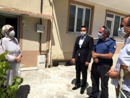Polis'ten Şehit ailesine bayram ziyareti