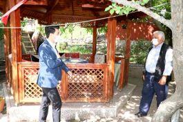 Pozantı'da Şehit ailelerine ziyaret