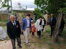 Pütürge de Şehit yakınları ve gazilere bayram ziyareti