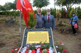 Rahime Kaptan'ın kabrine anıt mezar yapıldı