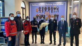 Sağlıkçılar  polislerin 176.yıl gününü kutladı