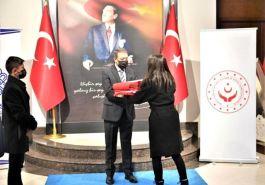 Şanlı Türk Bayrağı Çanakkale'ye uğurlandı