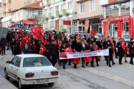 Sarıkamış Harekatı'nın 104. yılı anısına yürüyüş düzenlendi