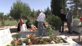 Sason'da Şehit yakınları Şehitlik ziyaretinde bulundu