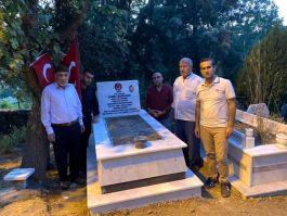 Sason'da şehitlerin mezarları ziyaret edildi
