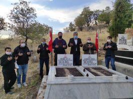 Sason'da Şehitlerin mezarı ziyaret edildi