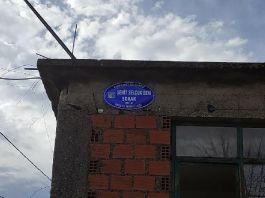Şehidin adı memleketindeki sokağa verildi