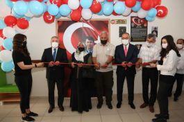 Şehidin adı verilen Kütüphane Meram'da açıldı