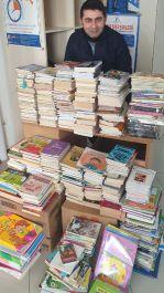 Şehidin adının verildiği kütüphaneye bin 250 kitap gönderdiler