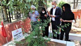 Şehidin  mezarına  60 yıl sonra kavuştular