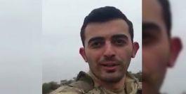 Şehidin Suriye'deki dünkü Son Görüntüsü (VİDEO HABER)