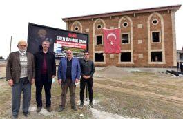 Şehidin Vasiyeti Camii 2 senedir bitirilemedi