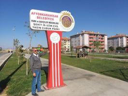 Şehit adı Afyonkarahisar'da bir parka verildi
