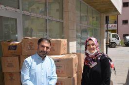 Şehit adı verilen Kütüphaneye 7 bin kitap bağışında bulundular