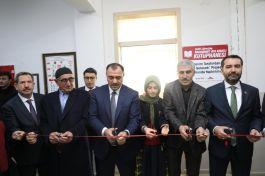 Şehit adı verilen Kütüphane açıldı