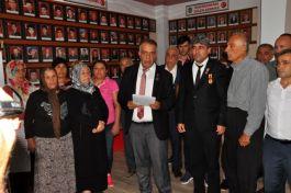 Şehit aileleri ve gazilerden Barış Pınarı harekatını destek