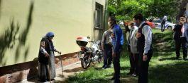 Emet'te Şehit aileleri ziyaret edildi