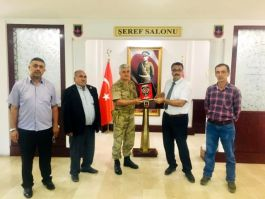 Şehit Ailelerinden İl Jandarma Komutanına Ziyaret
