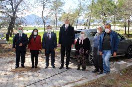 Şehit Ailelerine Anamur'da ziyaret