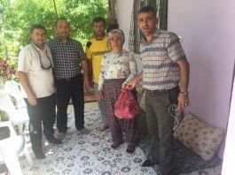 Şehit Ailelerine Kurban Eti Dagıtıldı
