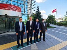 Şehit ailelerinin istek ve taleplerinin için Ankara'ya gitti
