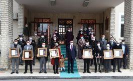 Şehit ailesi ve Gazilere Devlet Övünç Madalyası takdim töreni düzenlendi