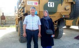 Şehit ailesinden Bakan Soylu ve Vali ye teşekkür