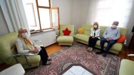 Şehit Ailesine Isparta Belediye Başkanından Ziyaret