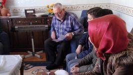 Şehit Ailesine Öğrencilerden duygulandıran ziyaret