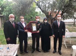 Şehit ailesine Şehadet Belgesi törenle teslim edildi
