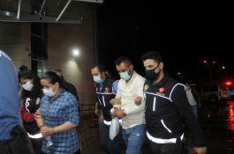 Şehit ailesini ve vatandaşları dolandıran 21 kişi gözaltında