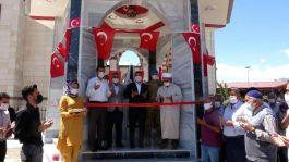 Şehit anısına yaptırılan Cami Şadırvanın açılışı yapıldı