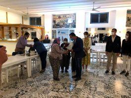 Şehit anneleri iftar programında bir araya geldi