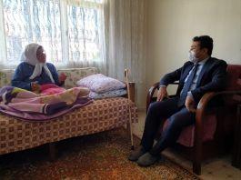 Şehit annesi 106 yaşında ilk kez doğum gününü kutladı