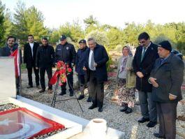 Şehit Asker Mezarı Başında anıldı