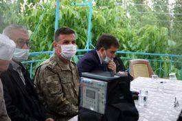 Şehit Asker Şehadetinin yıl-dönümünde dualarla yad edildi