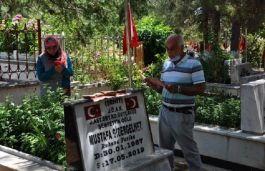 Şehit Asker Şehadetinin 2. Yılında mezarı başında anıldı