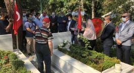 Şehit Asteğmen mezarı başında dualarla anıldı(Video)