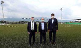 Şehit Astsubay ın adı Futbol sahası tesislerinde yaşayacak