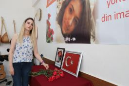 Şehit Aybüke görev yaptığı okulda anıldı(Video)