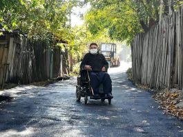 Şehit Babasının Çamurlu yoluna asfalt döküldü