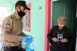 Şehit babasının ihtiyacını polis karşıladı