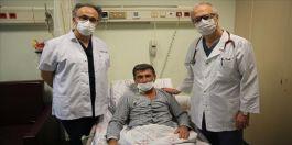 Şehit babasının kalbi 7,5 saat süren başarılı operasyonuyla onarıldı