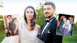 Şehit çocuklarının küçük yaşta başlayan arkadaşlığı evlilikle sonuçlandı