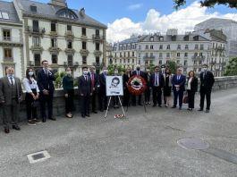 Şehit diplomat için anma programı düzenlendi